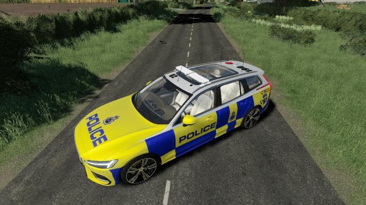 Volvo V60 Uk Police V1.0