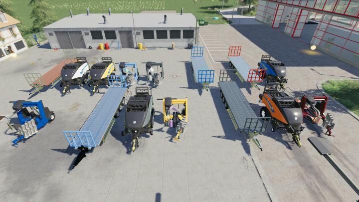 Baleros Baling Machinery Pack V1.0