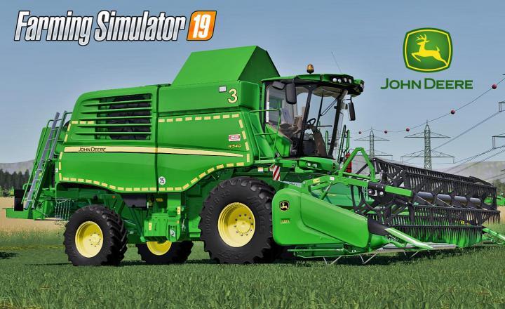 John Deere W500 Serie V1