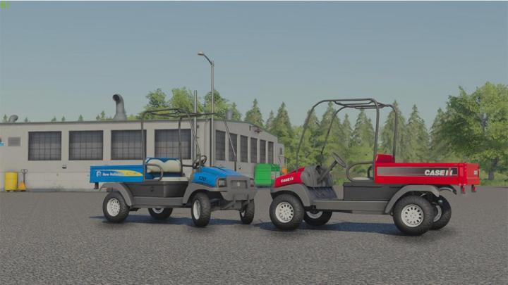 New Holland 120 Car V1.0