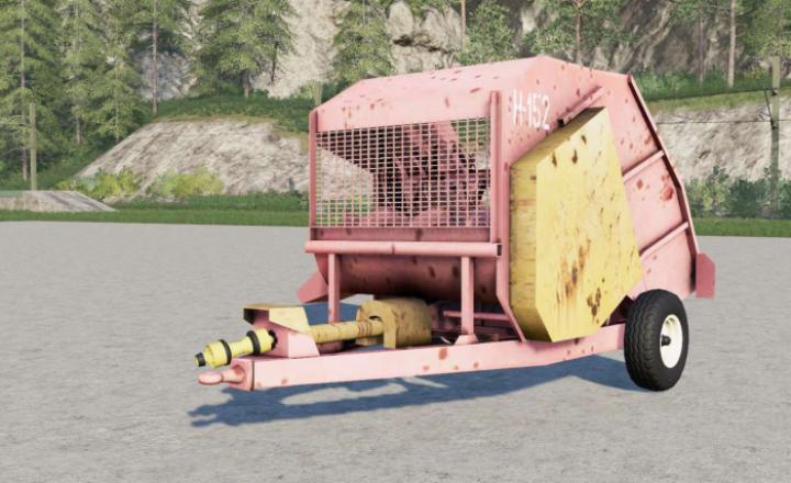 Agromet H-152 Baler Machine
