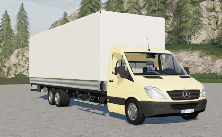 Mercedes-Benz Sprinter 6X6 Pritschenwagen Long