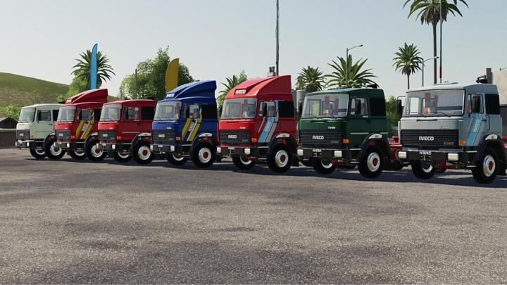 Iveco 190-38 Truck V1.0