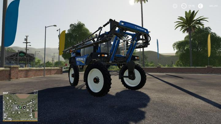 New Holland Sp.400F Section Control V1.0