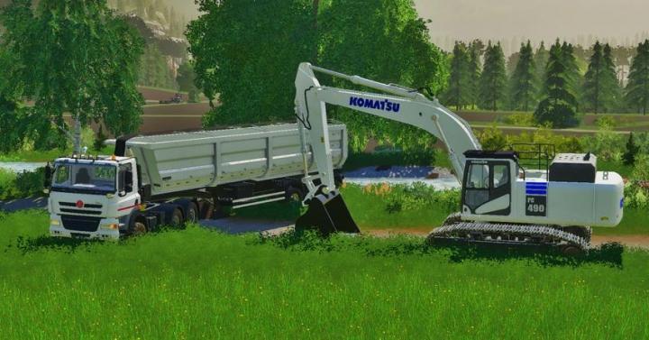 Komatsu Pc490 V2.0