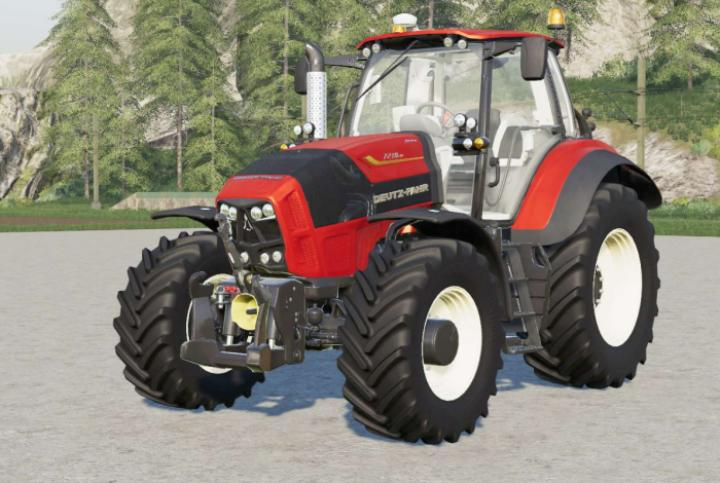 Deutz-Fahr Serie 7 Ttv Agrotron Tractor