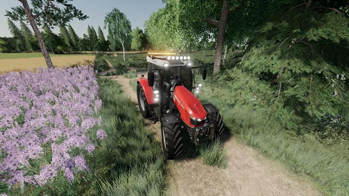Massey Ferguson 5700S Tractor V1.0