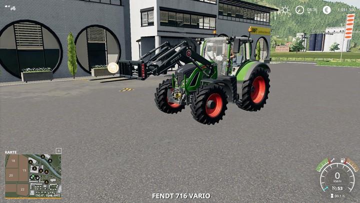 Fendt 700 Vario Tractor V1.0