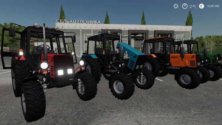 Belarus 892 Tractor V1.0