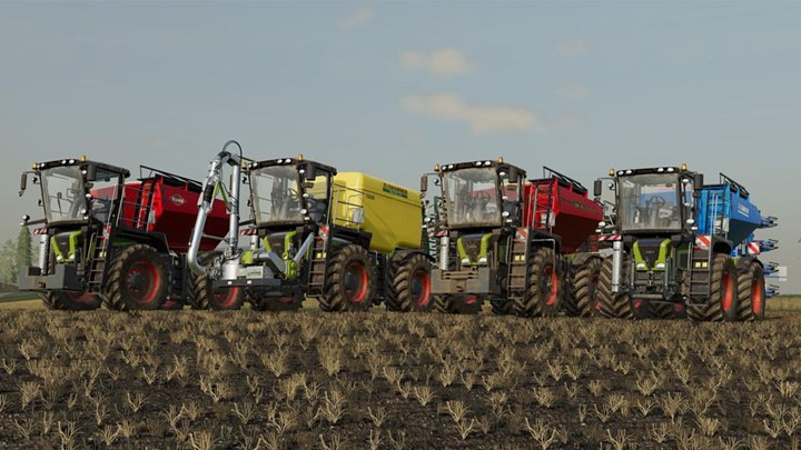 Claas Xerion 3000 Saddle Trac V1.2
