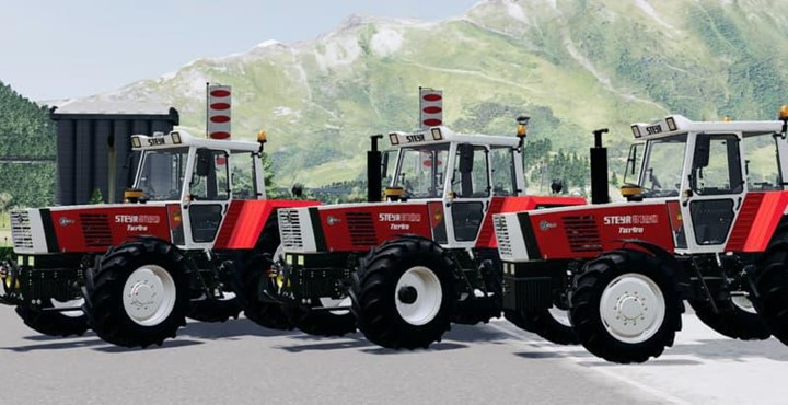 Steyr 8180 Turbo Tractor V2.0