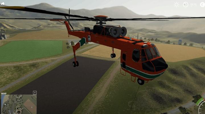 Forestry Helicopter V1.0
