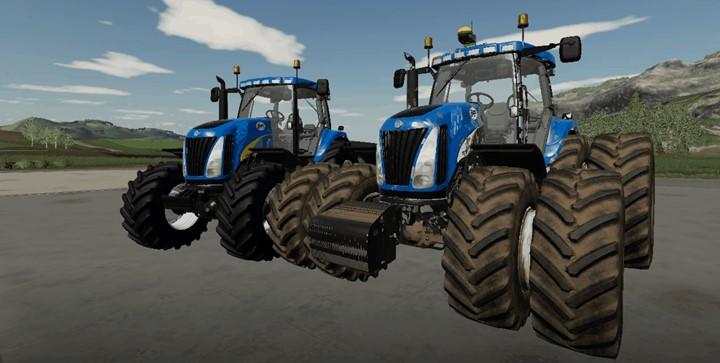 New Holland TG Series EU Tractor V1.2