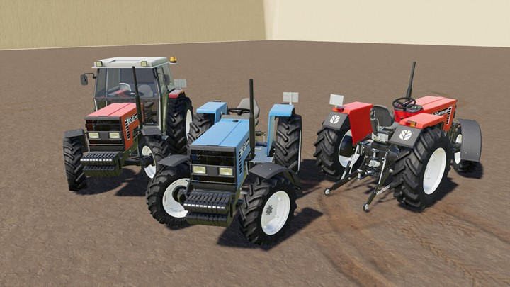 New Holland 8066 Tractor V1.0