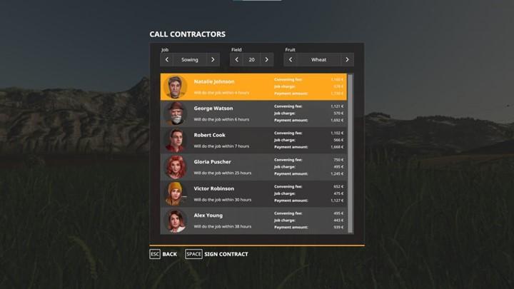 Call Contractors V1.0