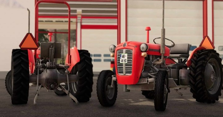 IMT 533 Deluxe Tractor V1.0