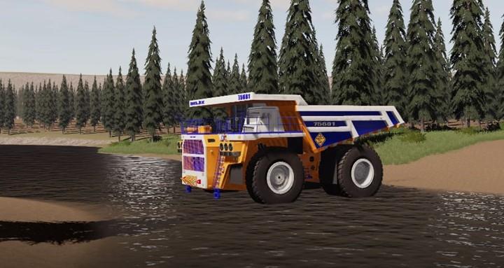 Belaz 75601 Mining Truck V1.0