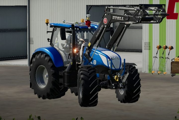 New Holland T6 Tractor V1.0