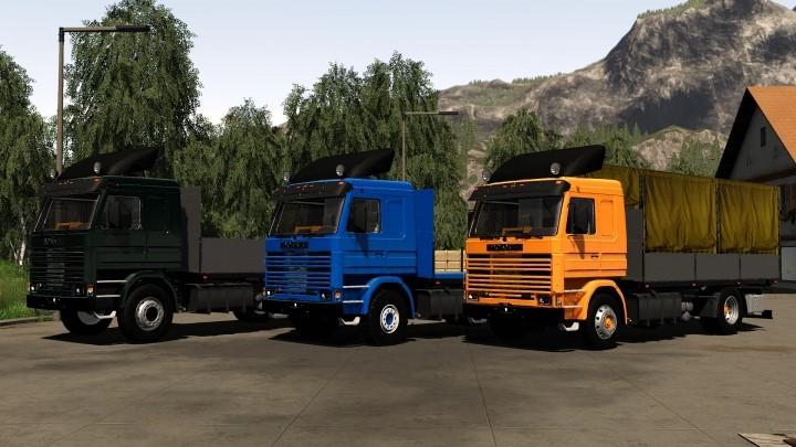 Scania 113H SideDoors Truck V2.0