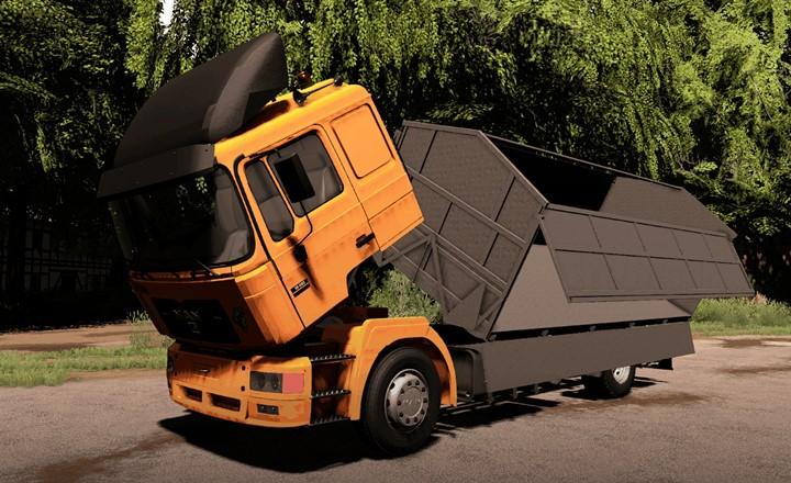 Man F2000 Grain Truck V1.0