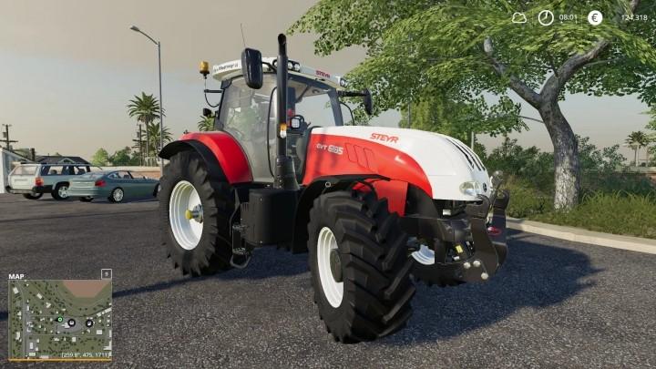 Steyr 6230 CVT Tractor V1.0