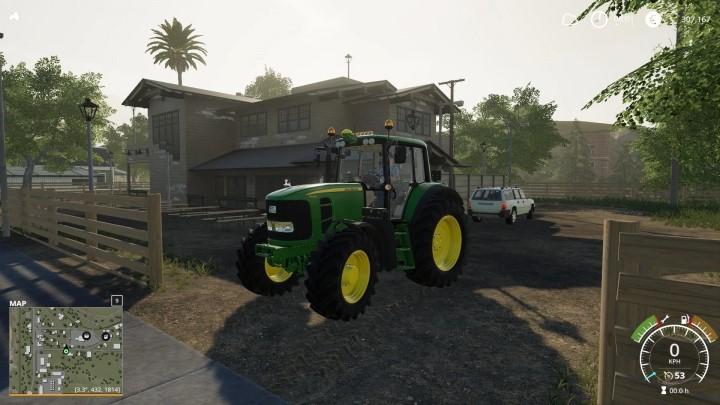 John Deere 7430 / 7530 Tractor V1.0