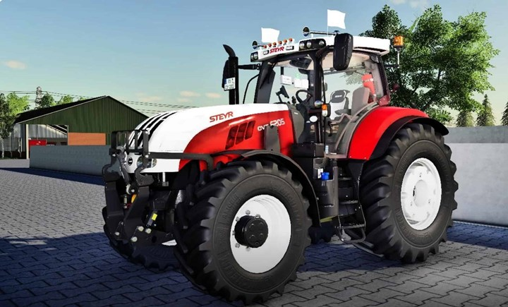 Steyr CVT 6230 Tractor V1.0