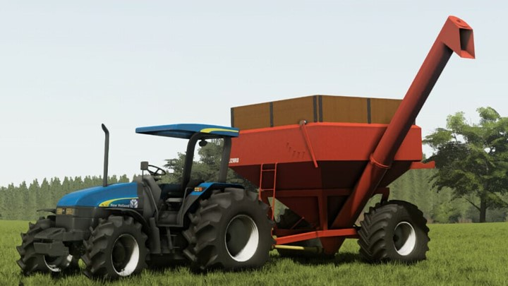 New Holland TL Series 2012 Brazil Tractor V1.1