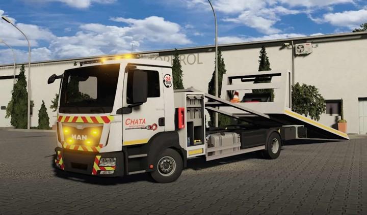 Man Tgm Rescue Truck V1.0