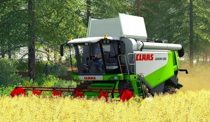 Claas Lexion 530 HTP Harvester V1.0.1.0