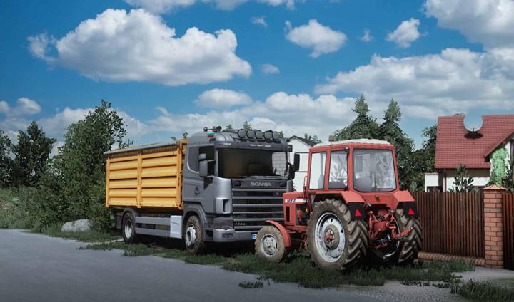 Scania 124 R Grain/Overloader V1.0