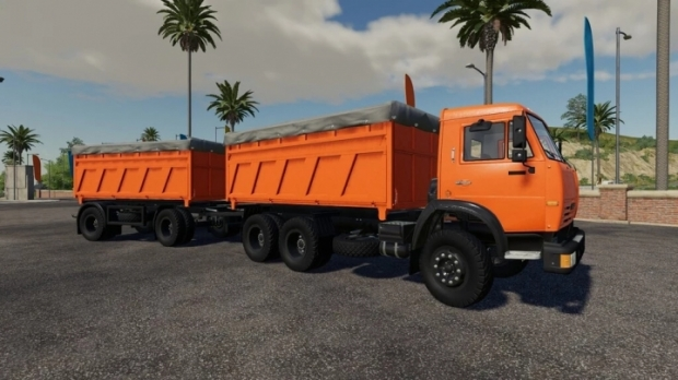 Kamaz Grain Truck V1.0.0.2