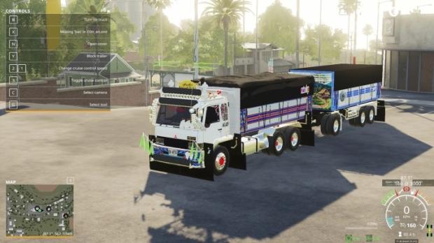 Mitsubishi Fuso Fn527 Truck V1.0
