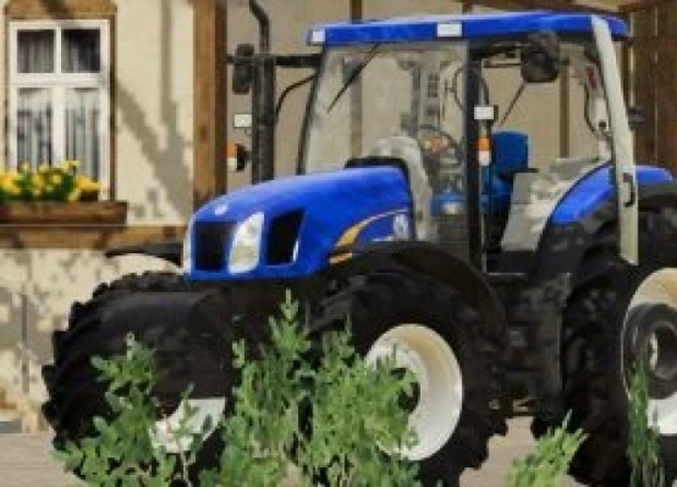 New Holland T6000 Tractor V1.0