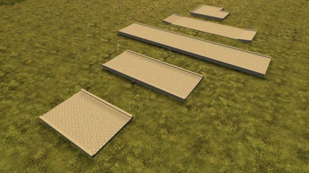 Sidewalks (Prefab) V1.0