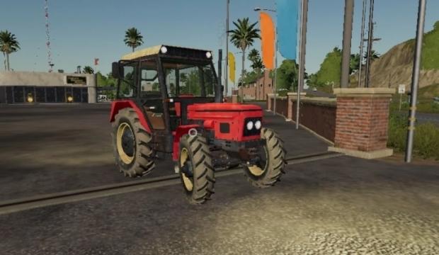 Zetor 7245 Mana Tractor V1.0