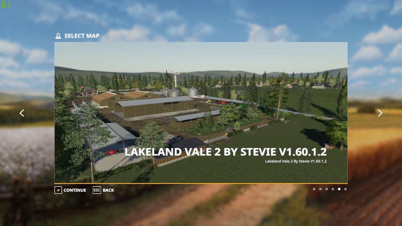 Lakeland Vale 2 Map (28/06/2020)