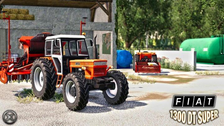 Fiat 1300 Dt Super Tractor V2