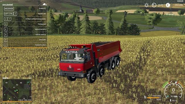 Tatra 815 Terrno1 8x8 Truck V1