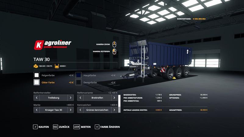 Kroeger Taw 30 Umbau Trailer V1
