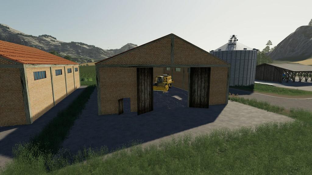 Agricultural Brick Shed V1