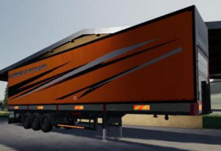 Refrigerated Industrial Trailer Toprun V1.5