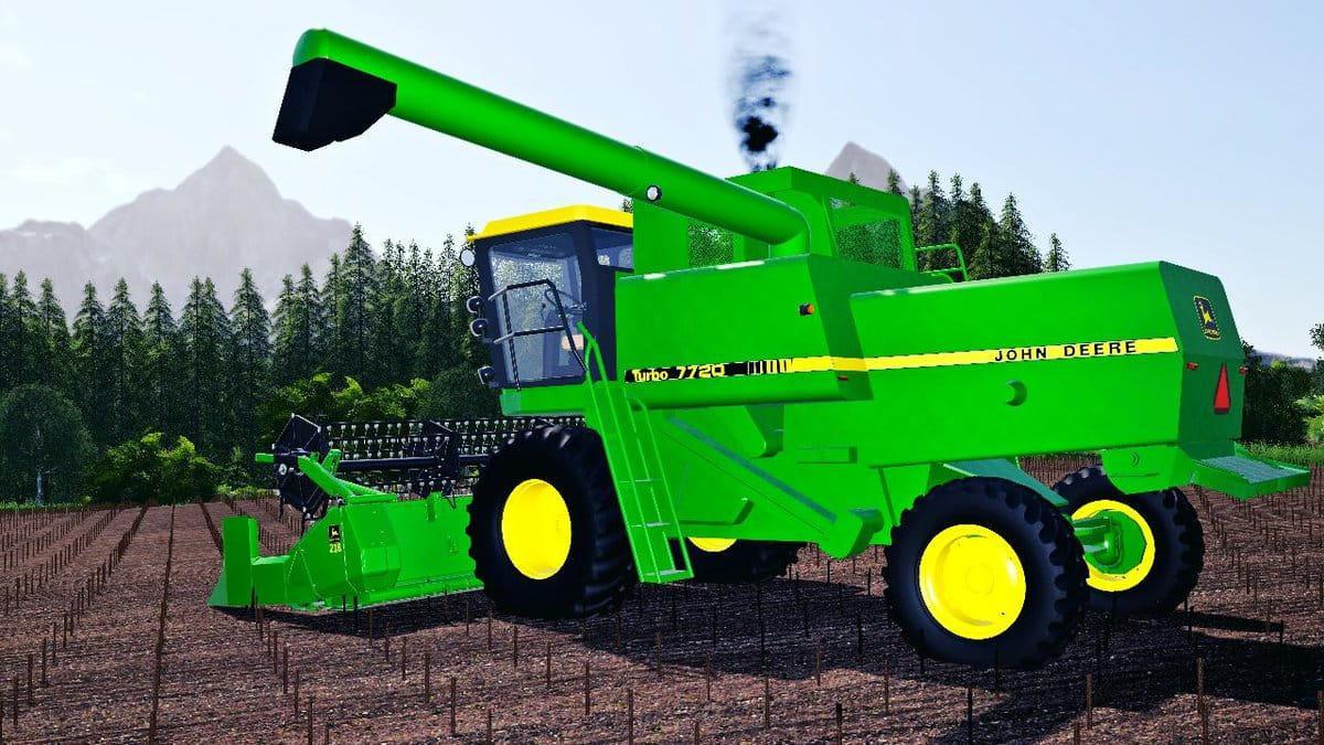 John Deere 4420 - 8820 Turbo / Titan II Harvester V1