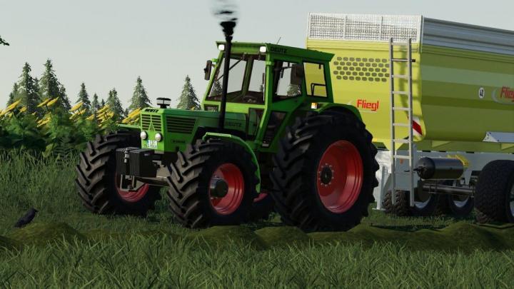 Deutz D8006 Tractor V1.4