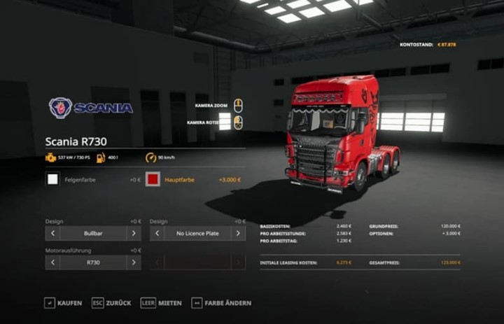 Scania R730 Semi 3 Axle V1.0.0.4