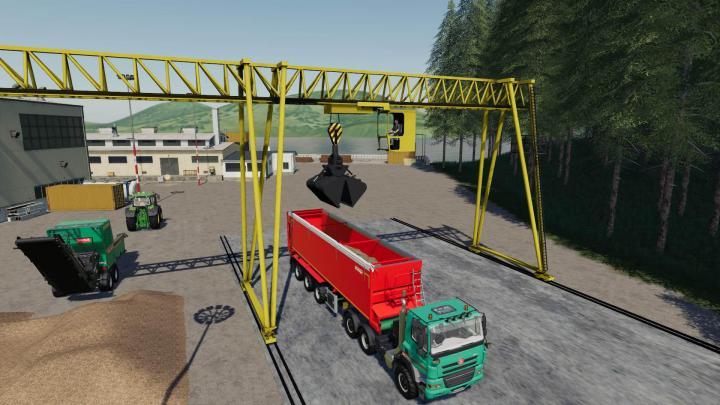 Wood Crane V1.1