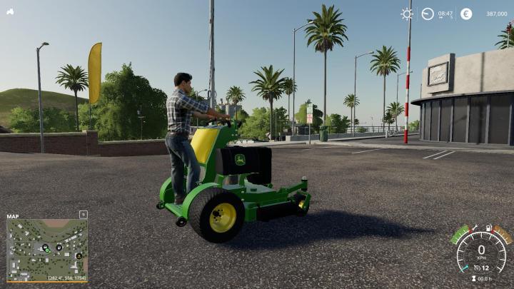 John Deere Stand On Mower V1.0