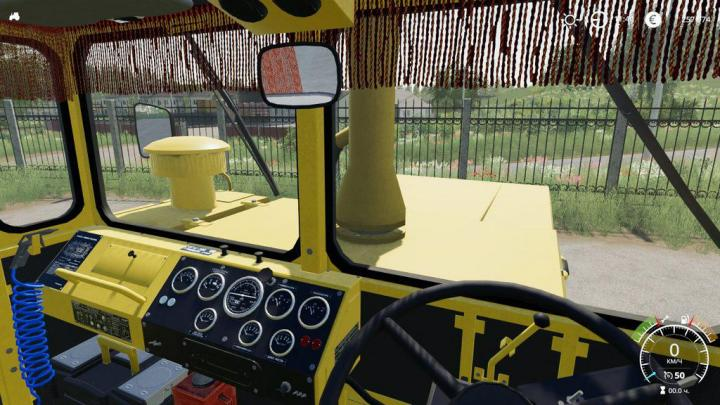 Kirovets K-700A With Curtains V1.2