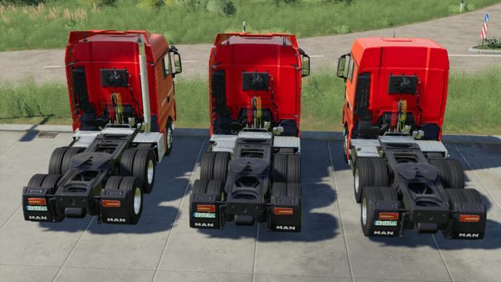 Man Tgx Semi-Truck Pack V1.0