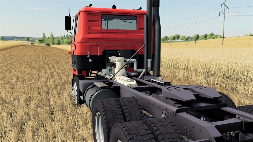 IH Transtar II Semi Truck V1